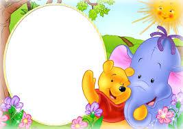 cute kids png photo frame winnie pooh gallery