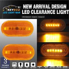 led clearance lights motorhomes keyecu led marker lights amber outline ls bus truck trailer