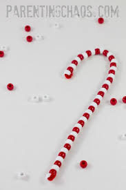 Where To Buy Candy Canes Beaded Candy Cane Ornament