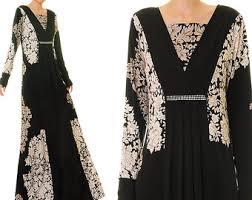 black abaya maxi dress long sleeve maxi dress jersey abaya