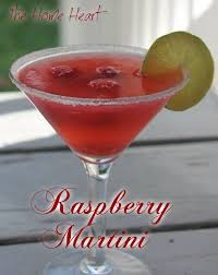 martini ginger raspberry martini the home heart