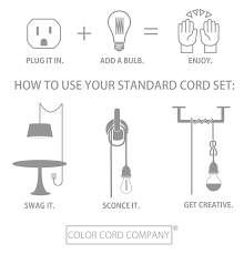 Pendant Light Fixture Kit In Pendant Light Fixtures Color Cord Company