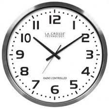 wall watch atomic wall clock large foter