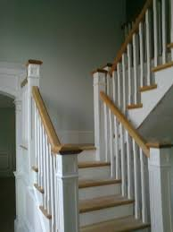 Spindle Staircase Ideas Oak Staircase White Spindles Hardwood Staircases Ideas Images 71