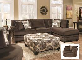 Chocolate Brown Sectional Sofa With Chaise Albany Winfrey Transitional Sectional Sofa With Chaise Efo