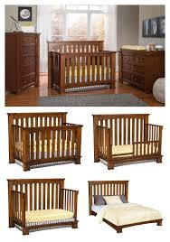 Solid Wood Convertible Crib Beautiful And Sophisticated This 4 In 1 Convertible Crib Easily