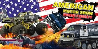 monster truck show youtube monster truck american motor show youtube