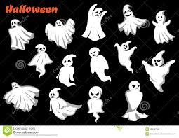 halloween clipart black background flying halloween monsters and ghosts stock vector image 59478768
