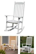 indoor outdoor wood rocking chair deck patio recliner porch garden