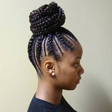 braided pin up hairstyle for black women best 25 black braided hairstyles ideas on pinterest black