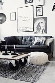 black leather living room how to decorate a living room with a black leather sofa black