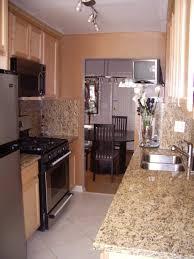 chic long narrow kitchen design long narrow kitchen design and