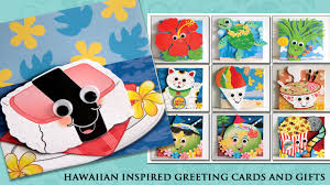 craft fair hawaiian greeting cards gifts ornaments made in