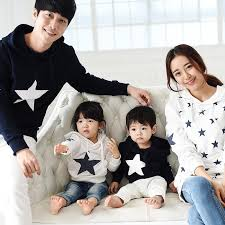 family clothing 2016 autumn winter cotton hoodie
