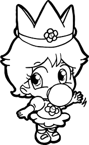 baby daisy baby daisy coloring page wecoloringpage