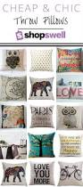 Cheap Sofa Pillows Elephant Throw Pillow Awesome Printed Throw Pillows Throw Pillows
