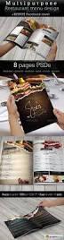 multipurpose restaurant menu template free download vector stock