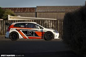 2015 mitsubishi rally car looks like a polo barks like an evo speedhunters