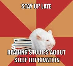 Sleep Deprived Meme - sleep debt defined by onlineclock