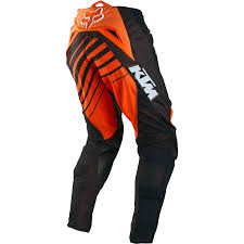 orange motocross gear fox racing 360 ktm orange motocross hose pant enduro pantalon