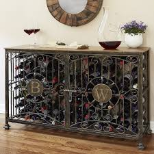 console table with wine storage console table wine rack console table personalized bottle antiqued