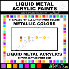 silver metallic acrylic paints 25 2382 silver paint silver