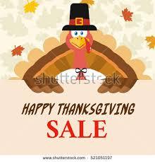 happy thanksgiving card turkey bird pilgrim stock vector 727088056