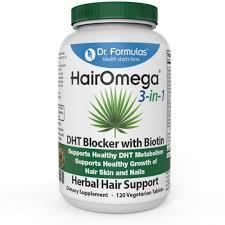 buy dr formulas hairomega 3 in 1 dht blocker with biotin hair