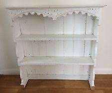 Shabby Chic Plate Rack by Vintage Solid Pine Farmhouse Dresser Painted In A Shabby Chic