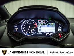 lamborghini huracan speedometer 2017 lamborghini huracán for sale in montréal lamborghini montréal