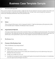 best sample business case template photos resume samples