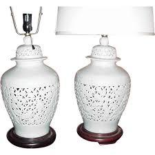 white ginger jar l amazing ginger jar ls regarding pair of blue and white chinese at