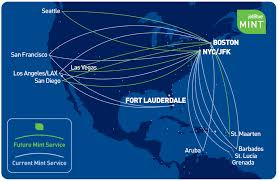 Virgin Atlantic Route Map by Jetblue Details New Lie Flat Mint Flights From Bos And Nyc
