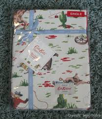 Cath Kidston Single Duvet Cover Cowboy Bedding And How To Make Lined Curtains Domestic Imperfection