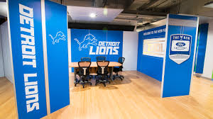 Detroit Lions Home Decor by Bluemedia Detroit Lions Football Stadium Signage Renovation