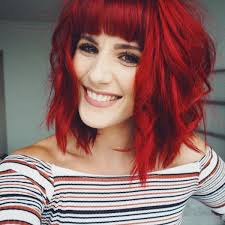 how to put red hair in on the dide with 27 pieceyoutube best 25 bright red hair ideas on pinterest bright red