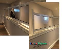 Wall Banister Railings Child Safety Child Senior Safety Custom Plexiglass