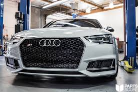 audi s4 rs b9 s4 rs style mesh front grill upgrade parts