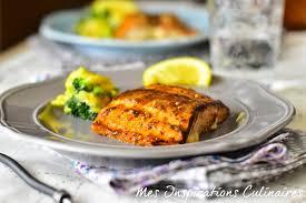 cuisiner pavé de saumon au four recette saumon au four marinade sirop d érable le cuisine