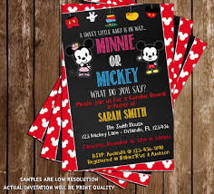 novel concept designs mickey u0026 minnie mouse gender reveal