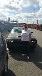 dodge challenger import hellcat arrives in the united kingdom with a lot of hoo hah