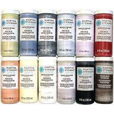 chart martha stewart craft paint chart