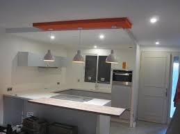 faux plafond pour cuisine plafond cuisine design spot with plafond cuisine design avec cuisine