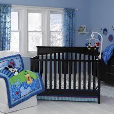 Solid Pink Crib Bedding Fearsomeight Blue Crib Bedding Set Sickchickchic Photo