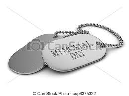 remembrance dog tags memorial day 3d illustration of dog tags clip search