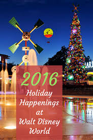 winter holidays at walt disney world what s new in 2016