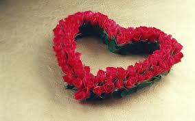 Flower Love Pics - flower heart love wallpaper for desktop laptop and mobile