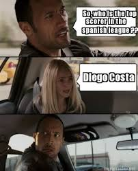 Diego Costa Meme - meme maker so who is the top scorer in the spanish league diego