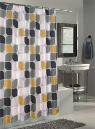 grey and yellow bathroom wall decor white free standing soaking
