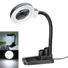 magnifying glass desk lamp fabulous magnifying glass desk lamp for